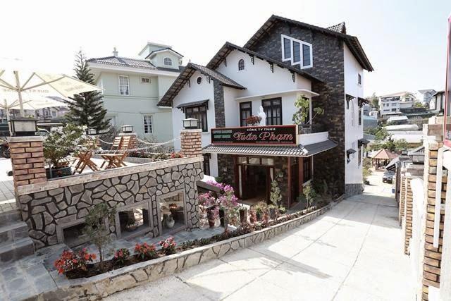 Khách sạn mang dáng vẻ cổ điển ở Đà Lạt