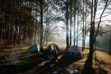 một số địa điểm cắm trại tại đà lạt