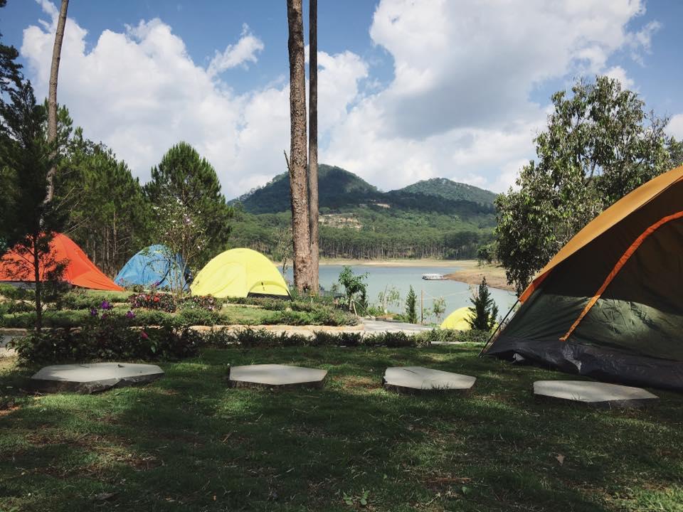 địa điểm cắm trại đẹp ở đà lạt