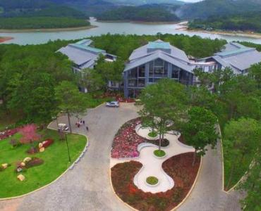 Khách sạn Đà Lạt gần hồ Tuyền Lâm đẹp và sang trọng