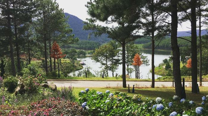 Những khu nghỉ dưỡng gần hồ Tuyền Lâm view đẹp ngất ngây, sang trọng 2