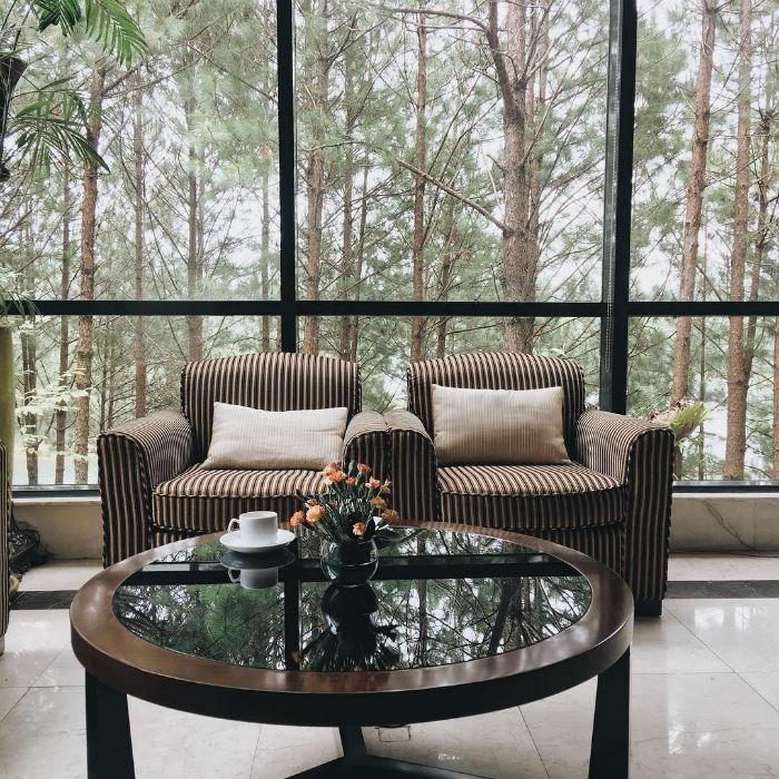 Những khu nghỉ dưỡng gần hồ Tuyền Lâm view đẹp ngất ngây, sang trọng 5