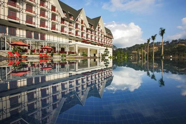 Những khu nghỉ dưỡng gần hồ Tuyền Lâm view đẹp ngất ngây, sang trọng 7