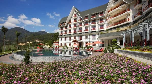 Những khu nghỉ dưỡng gần hồ Tuyền Lâm view đẹp ngất ngây, sang trọng 8